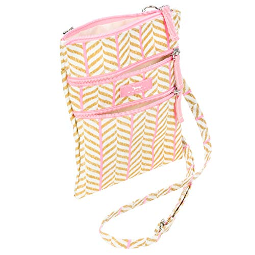 Stix Go Crossbody Lightweight Zips Adjustable Water Multi Closed Cinnamon Bag Sally Pocket SCOUT Strap Resistant Lightly g5Zqxq