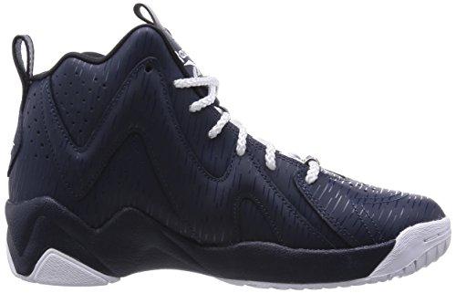 Reebok Kamikaze Ii Mid Rp Heren Hi Top Sneakers Blauw