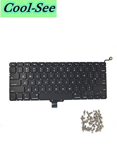 Replacement Keyboard With 100 Pce Screws For MacBook Pro 13