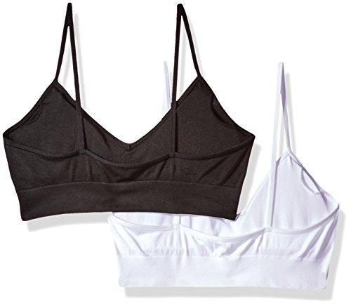 8a40c694c536ff Calvin Klein Women s Horizon Seamless 2 Pack Bralette