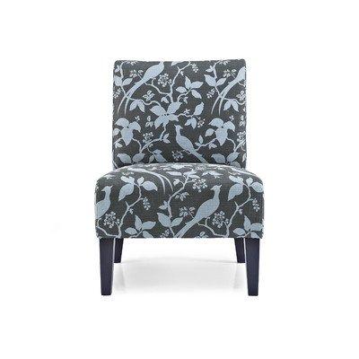 Monaco Bardot Slipper Chair Color: Teal