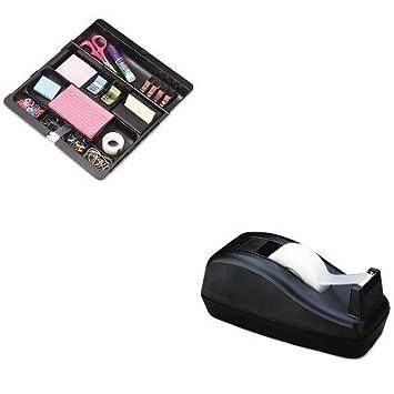 kitmmmc40bkmmmc71 – Value Kit – Scotch dispensador de cinta de escritorio Deluxe (mmmc40bk) y