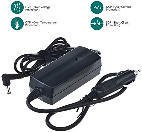 SLLEA Car DC Adapter for Puritan Bennett Tyco GoodKnight 425G 425S CPAP Auto Vehicle Boat RV Camper Cigarette Lighter Plug Power Supply Cord Cable Charger PSU