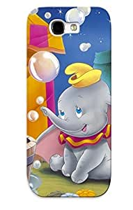 Galaxy Note 2 Case Slim [ultra Fit] Dumbo Cartoon Disney Protective Case Cover