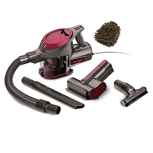 HV292 Shark Rocket Corded Hand Vac (Complete Set) w/ Bonus: Premium Microfiber Cleaner Bundle
