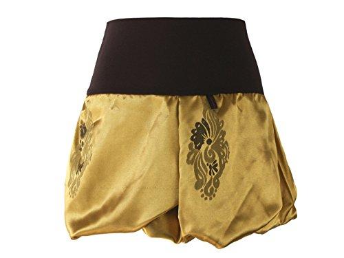 Femme Gold 40 Marron 40cm Jupe Dunkle Design Boule wYH6qtq