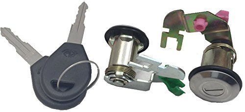 Well Auto Door Lock Cylinder Set -Tumbler with Key(L& R) 92-94 D21 95-97 Hardbody 91-95 Pathfinder