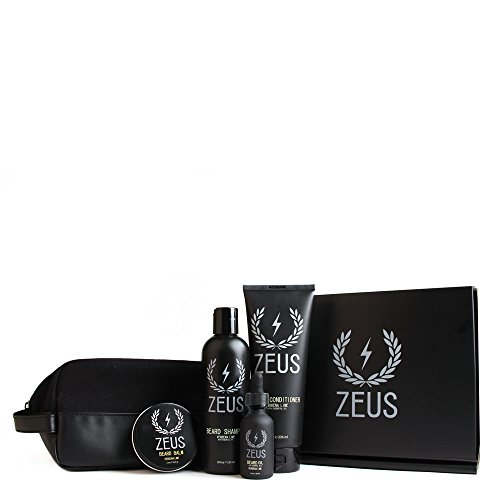 zeus everyday beard grooming dopp kit men s quality personal care beard set. Black Bedroom Furniture Sets. Home Design Ideas