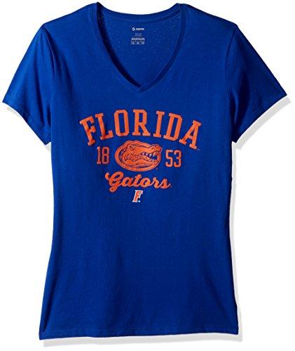 Soffe Women's Core Florida Gators S/S Tee, Royal, Medium