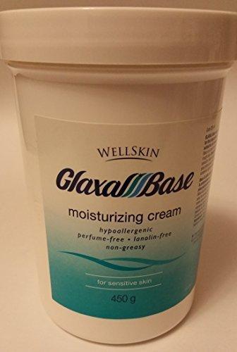 - Wellskin Glaxal Base Moisturizing Cream - 450g (15.9 Oz) Large Size by WellSkin