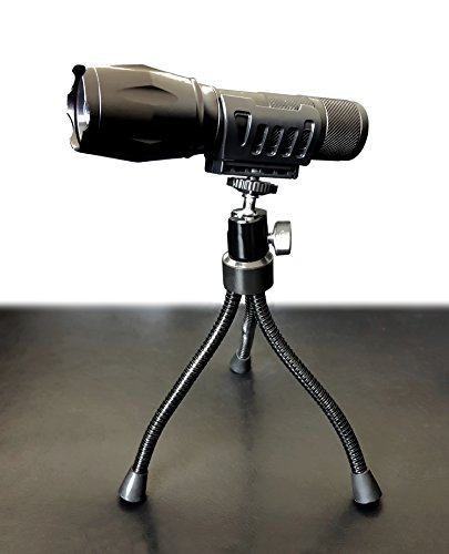 Stanley Tripod Light - Bell + Howell Tripod for Taclight Flashlight with 360-Degree Rotating Head