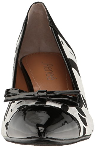 Renee Brisa Black Dress J White Pump Women's 71wZqgxfP