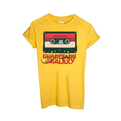 shirt Film Cassetta Dress Galassia Gialla Mixtape Style Guardiani By T Mush Della Your 4qxHf5Bw
