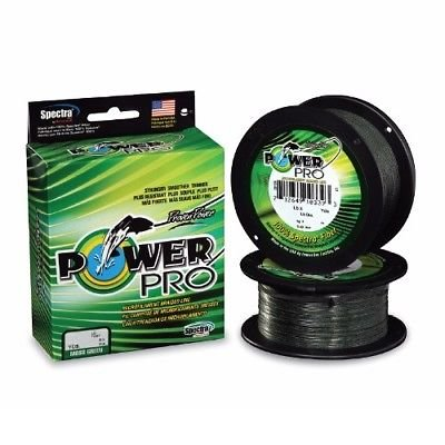 PowerPro 21100151500E Spectra Braided Fishing Line 15Lb 1500 Yd