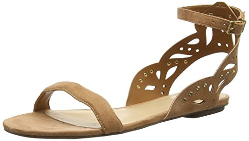 Aldo Lillywhite - Sandalias de tobillo Mujer Marrón - Braun (Light Brown / 27)
