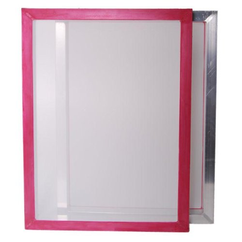 Aluminum Frame Printing Screens, Size 23''x31'' w/ 160 tpi White Mesh Pre-stretched (12 Pack) by MSJ Screens