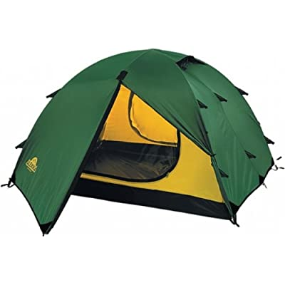 Image of Alexika Rondo 2 9123.2101 Tent Width 210 x Length 340 x Height 100 cm Green Exterior Yellow Interior Tents
