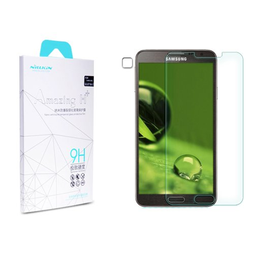 9H Hardness Tempered Glass Clear Screen Protector + Lens Screen Protector + Dust Clean Film + Clean Cloth For Samsung N7505 GALAXY Note 3 Neo Nillkin NG00033 -- Retail Packaging