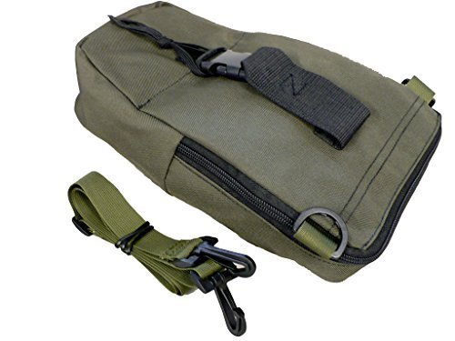 Night Vision OD Green Soft Carry Case with Shoulder Strap for PVS-7 PVS-14 6015 (Nvg Lens)