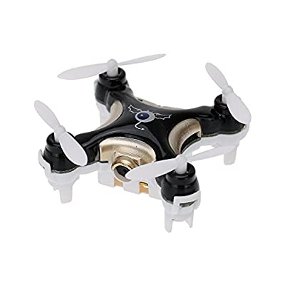GoolRC CX-10C Mini 2.4G 4CH 6 Axis Nano RC Quadcopter with Camera RTF Mode 2 (Black) from cheerson