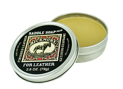 Bickmore Saddle Soap Plus- With Lanolin (2.8 (Boot Soap)