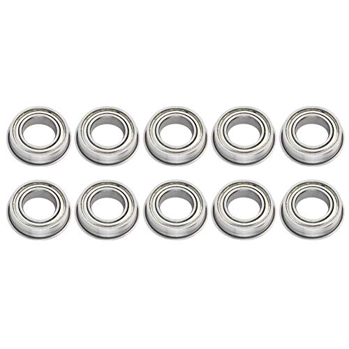 10Pcs MR148ZZ Ball Bearing, High Speed Double-Sided Seal Deep Groove Raceway Steel Ball Bearing with Single Column Ball Bearing Ensure The efficient Operation of Steel Balls 8x14x4mm