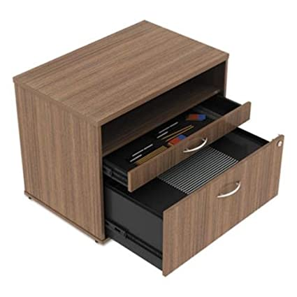 Beau Amazon.com : Alera LS583020WA Open Office Series Low File Cabinet Credenza,  29 1/2x19 1/8x22 7/8, Walnut : Office Products