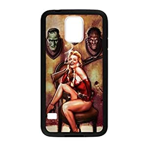 Sexy Pin Up Girl for Samsung Galaxy S5 TPU Case Cover