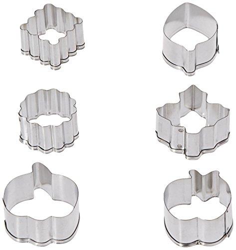 Wilton 2308-0893 Cutter Set on Pie Backer, Mini -
