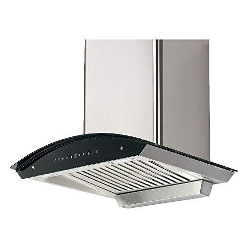 MODA Germany 60 cm1300 m3/h Single Buffle Filter Auto Clean Kitchen Chimney (Hector 60, 3 Speed Gesture and Touch Controlled, Kitchen Hood, Oil Collector Cup) (60 cm, Silver)