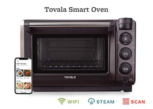 Tovala Gen 2 Smart Steam Oven   Countertop WiFi Oven   5 Mode Programmable Oven   Toast, Steam, Bake, Broil and Reheat…