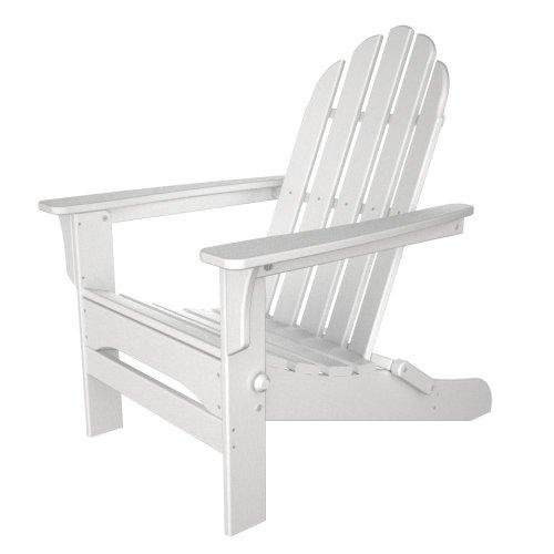 Table in a Bag CWADIR White Wood Adirondack Chair