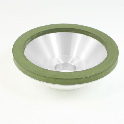 uxcell 研磨材 ダイヤモンドカップ 75% 1500グリット レジンボンド ボウル ダイヤモンド グラインダー砥石ツール形
