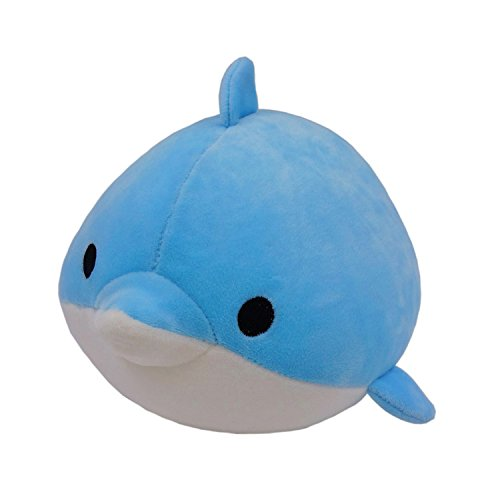 "Marine Animal Series-Blue Dolphin Plush Toy 8"",1 Piece,Blue"