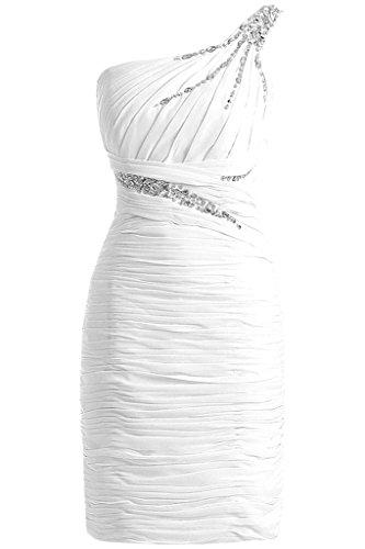 TOSKANA BRAUT - Vestido - Una manga - para mujer blanco