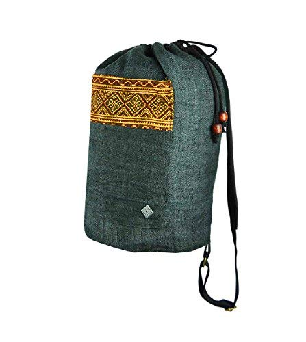 ackpack hand-woven hill tribe patterns-Freiheit black ()