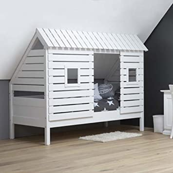 lounge-zone Raumwunder Marken Hochbett Holz Massiv Kinderbett ...