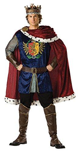 Maid Halloween Costume Ideas (InCharacter Costumes Men's Noble King Costume, Burgundy/Blue,)