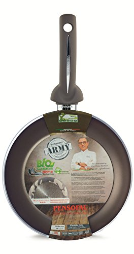 Pensofal 07PEN8305 Army Bioceramix Non-Stick High Side Fry Pan, 11-Inch