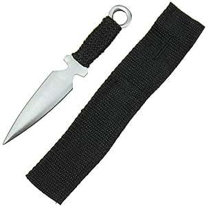 Amazon.com: Swordsaxe Ninja Assassin Kunai - Cuchillo de ...
