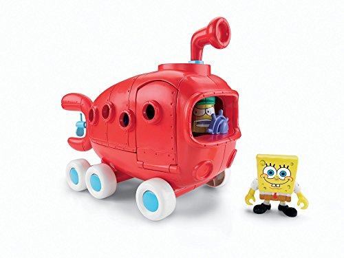 SpongeBob Squarepants Imaginext Exclusive Vehicle Bikini Bottom Bus (Adventures Spongebob Bottom Squarepants Bikini)