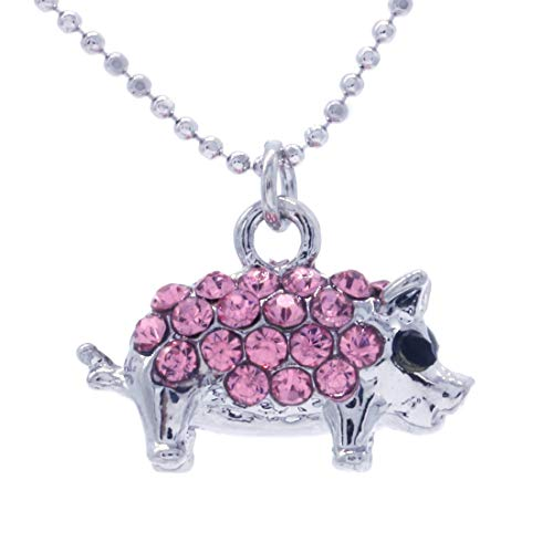 Soulbreezecollection Pink Pig Anklet Farm Animal Lover Piglet Ankle Bracelet Charm Fashion Jewelry for Women