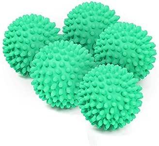 5-pack herbruikbare wasdroger ballen - niet-smelten, energiebesparing, gemakkelijk te gebruiken, zachtere kleding!