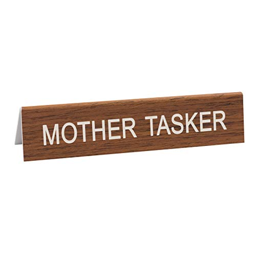 fee733d90ab3 Say What Mother Tasker Desk Sign, 1.25