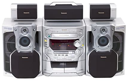 Panasonic SC AK78 5CD Dolby Pro Logic Home Theater Compact Stereo System Discontinued By