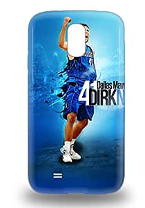 Hot Tpye NBA Dallas Mavericks Dirk Nowitzki #41 Case Cover For Galaxy S4 ( Custom Picture iPhone 6, iPhone 6 PLUS, iPhone 5, iPhone 5S, iPhone 5C, iPhone 4, iPhone 4S,Galaxy S6,Galaxy S5,Galaxy S4,Galaxy S3,Note 3,iPad Mini-Mini 2,iPad Air )