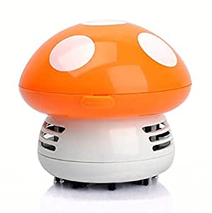 Amazon.com - Lollipop Mini Robot Vacuum Cleaner, Mushroom