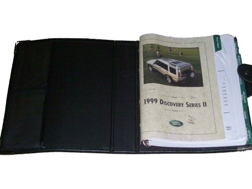 99 Land Rover Discovery Vehicle Owners Manual Handbook Guide Set
