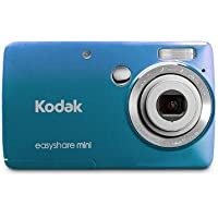 Kodak EasyShare Mini M200 10 MP Digital Camera with 3x Optical Zoom and 2.5-Inch LCD - Blue Advantages Review Image