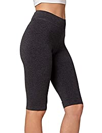 Conceited Premium Soft Cotton Spandex Jersey Leggings - High Yoga Waistband - Regular Plus Size - Capri and Full Length
